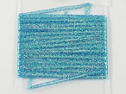 "Тесьма Lagartun French Flat Braid 1/8"" 3mm 5 yd Fluo Blue"