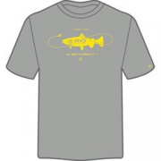 Футболка Rio Trout Tee Shirt, р-р XL Medium Heather Gray