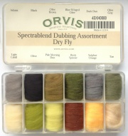 Набор даббингов Orvis Spectrablend Dry Fly Dubbing Assortment