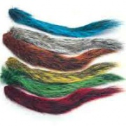 Хвост белки Veniard Grey Squirrel Tail Dyed Dark Claret