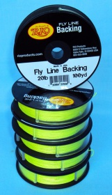 Бэкинг RIO Fly Line Backing 20lb Chartreuse