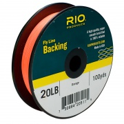 Бэкинг RIO Fly Line Backing 30lb Orange