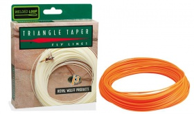 Шнур нахлыстовый Royal Wulff Triangle Taper, Orange, WF7F