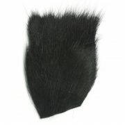 Мех оленя Wapsi Deer Belly Hair Black