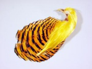 Полный скальп фазана Veniard Golden Pheasant #1 Complite Head Dyed Red